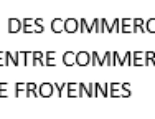 Union des commercants du centre commercial de froyennes